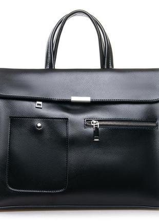 Женская кожаная сумка а4 жіноча шкіряна