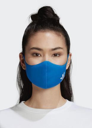 Новая оригинальная качественная маска adidas многоразовая / pi...