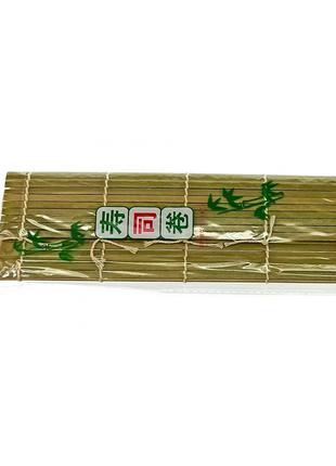 Коврик для суши бамбуковый макису (23х24 см)
