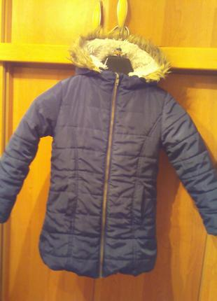 Куртка , зима, внутри мех.  tchibo.  состояние отлично