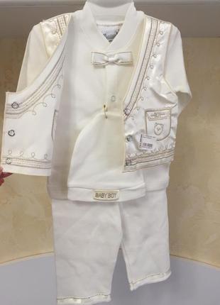 Крестильный набор для крещения мальчику
