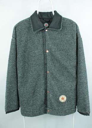 Винтажная флисовая курточка converse vintage fleece jacket