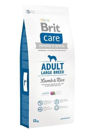Brit Care Adult Large Breed Lamb & Rice 12 кг (ягненок и рис)
