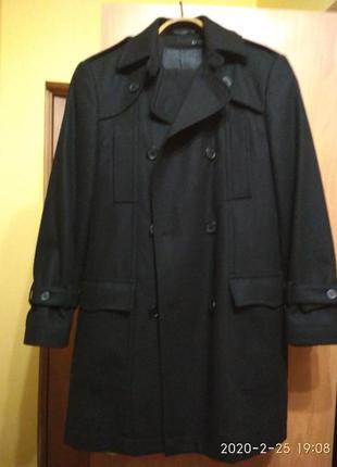 Пальто демісезон + шарф в подарунок