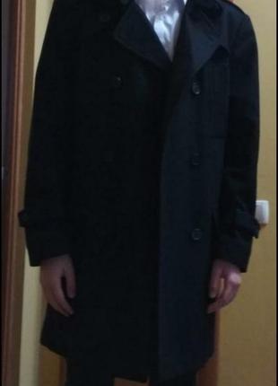 Пальто шерсть 46-48 розмір підліткове або худого мужчину
