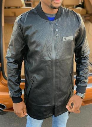 Куртка мужская экокожа деми