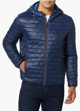 Мужская демисезонная деми куртка tommy hilfiger