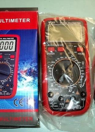 Цифровий мультиметр Digital Multimeter VC61A