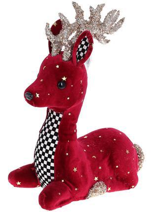 Декоративная фигура Олень, 31см, цвет - красный BonaDi 743-589...