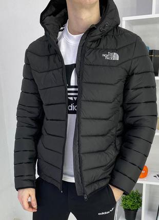 Куртка the north face чёрная