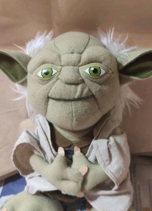 Мастер йода озвучен Star Wars мягкая игрушка с Европы