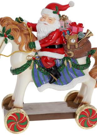 Декоративная фигура Санта на лошади, 39.7см BonaDi 838-344 ТОВ...