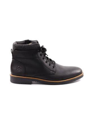 Оригінальні чорні чоловічі черевики rieker (33640/02)