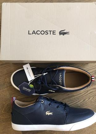 Новый кроссовки кеды топсайдеры туфли лакост lacoste