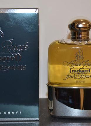 Винтажный аромат cacharel pour l'homme after shave 100ml
