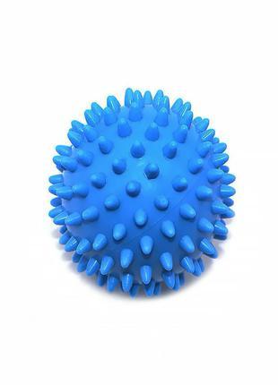 Мяч массажный Dobetters PVC P2 Dark Blue для массажа с шипами ...