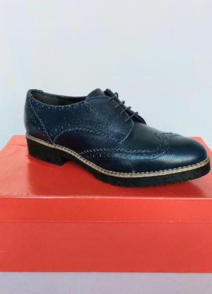Распродажа. superba фирменные туфли оксфорды. кожа. новые, р. ...
