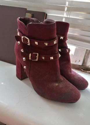 Ботинки на каблуке обмен