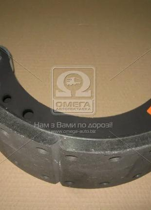 Колодка тормозная МАЗ левая (Самборский ДЭМЗ). 5336-3501091