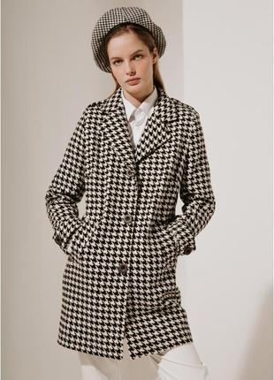 2020! valentir шерстяное пальто укороченное с пагонами на плеч...