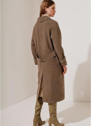 2020! valentir шерстяное пальто длинное с хлястиками на рукава...