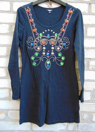 Платье с декором asos.