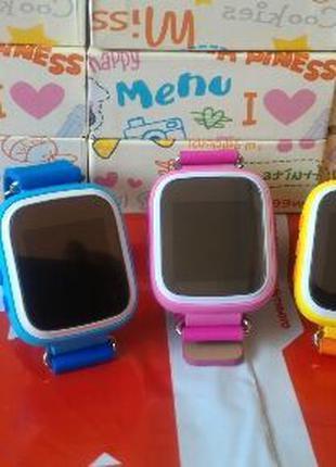 Детские умные часы Smart baby watch Q60 Оригинал !! Лучшая цен...