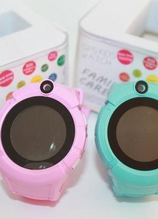 Детские смарт часы с GPS трекером и Телефоном Модель Q 610 S О...