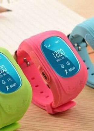 Детские умные смарт часы Q50 с GPS трекером и телефоном. 540 грн.