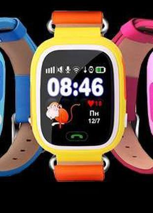 Детские умные смарт Часы Q 90-100