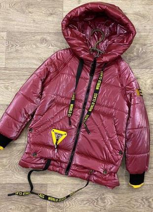 Деми весенняя куртка жилет для девочки