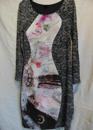 Шикарное стройнящее платье save the queen, italy
