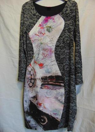 Шикарное стройнящее платье, save the queen, italy.