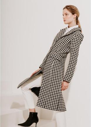 2020! valentir шерстяное пальто приталенного силуэта