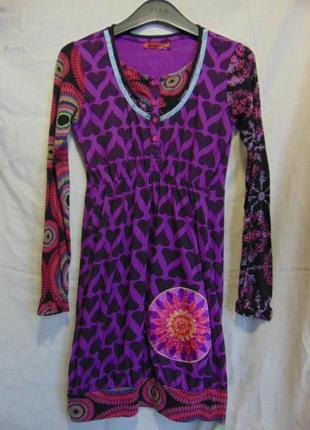 Платье для девочки 13-14 лет, desigual