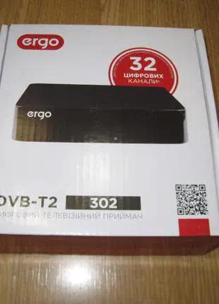 TV Тюнер цифровой Т2 DVB-T2 Ergo 302 USB -HDMI Full HD