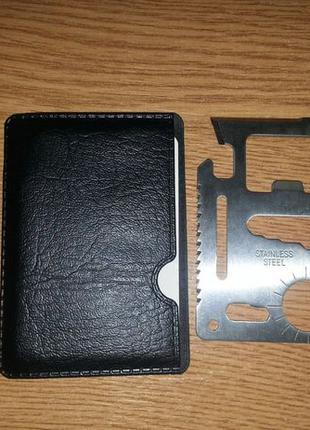 Карта мультитул, нож кредитка