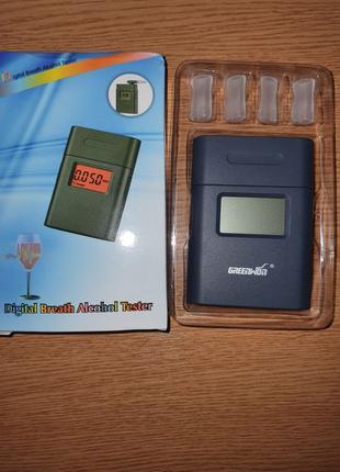 Алкотестер электронный с мундштуком и подсветкой