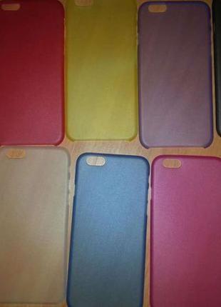 Чехол накладка для Iphone 4, 5, 6, X