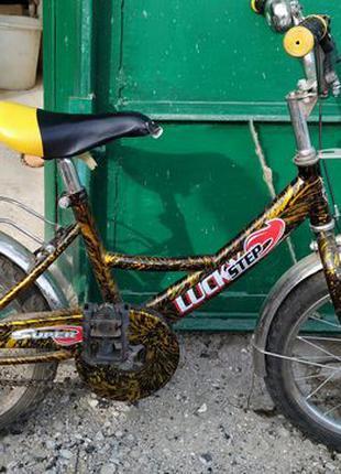 Детский б/у велосипед в хорошем состоянии