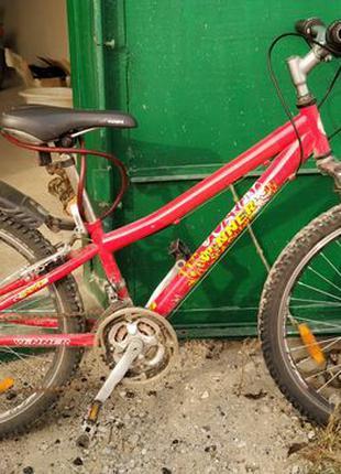 """Подростковый велосипед, колеса 19"""""""