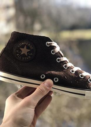 Converse all star замшеві кеди оригінал