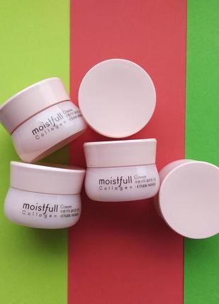 Подтягивающий крем с коллагеном etude house moistfull collagen...