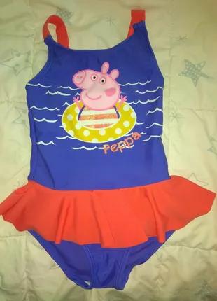 Детский купальник, возраст 2-3 года.