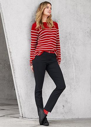 Яркий пуловер, свитер в полоску от tcm tchibo, германия, евро ...
