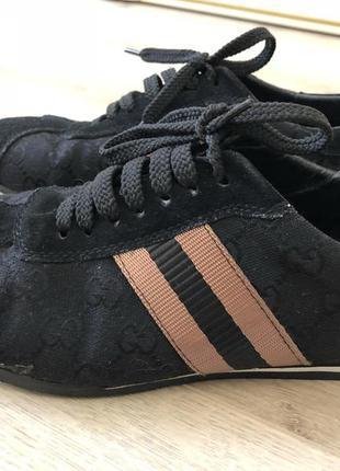 Замшевые кроссы gucci 38
