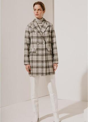 2020! valentir шерстяное пальто укороченное на 2 пуговицы