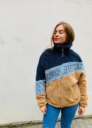 Куртка з еко-хутра