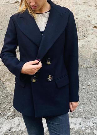 Пальто коротке шерстяне