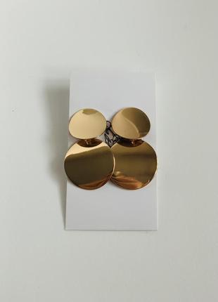 Сережки золоті